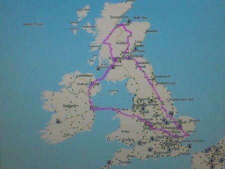 Storbritannien rundt 2012